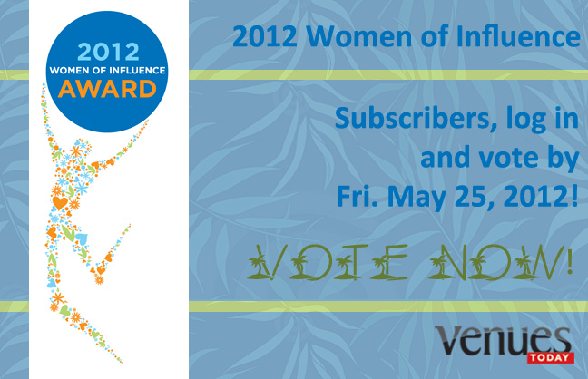 Announcing the 2012 Women of Influence Nominees