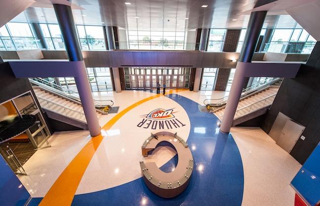 OKC Arena Completes Construction
