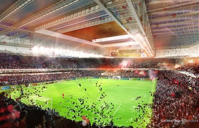 AEG Wins Another Brazilian Stadium Management Contract