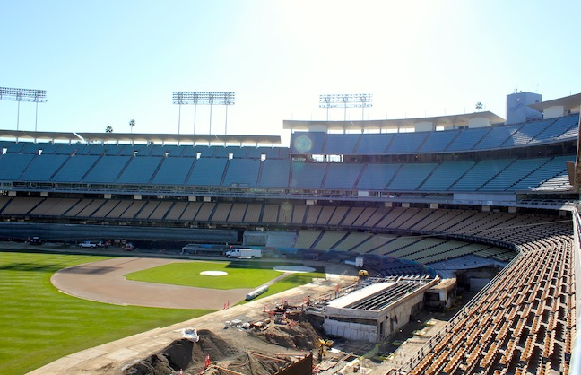 Dodger Stadium Upgrades with Fans in Mind