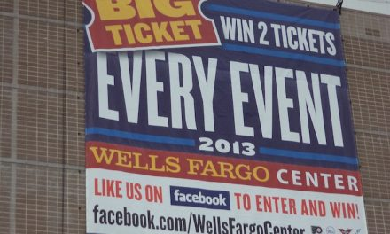 Wells Fargo Center Contest Gives Away Ticket to Every Event in 2013