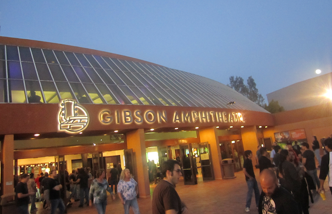 Gibson Amphitheatre Set To Close
