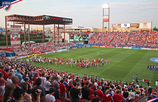 Toyota Revs into Naming Rights with FC Dallas