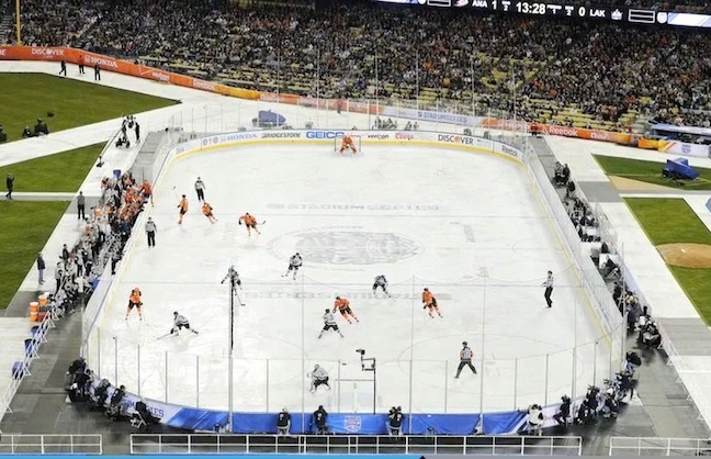 Stadium Series Rocks Dodger Stadium