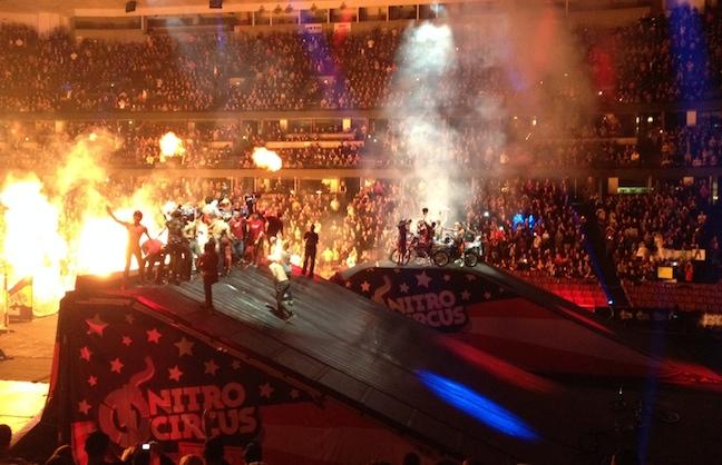 Nitro Circus Live Wraps 2014 Tour