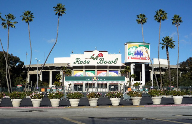 Rose Bowl Goes On College Football Blitz