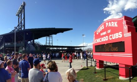 Cubs Improve Spring Experience