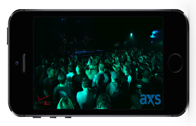 AXS rolls out mobile streaming app