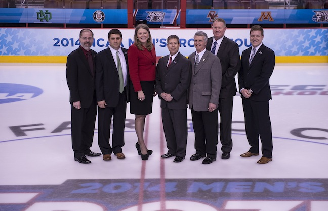 Wells Fargo Center Wraps Up Successful Frozen Four