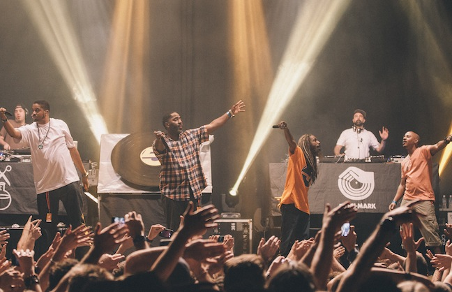 Jurassic 5 Makes Low-Key Live Return