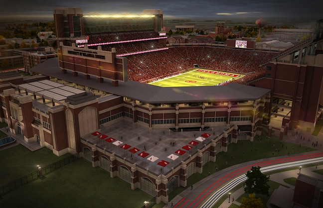 Oklahoma Memorial Stadium Gets A Major Upgrade