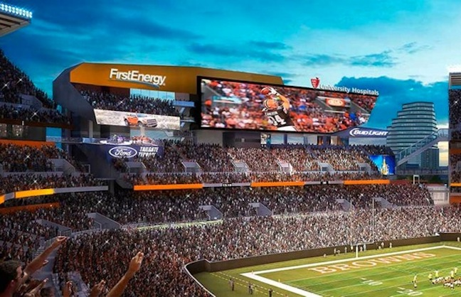 Browns Renovations Focus on Fan Experience