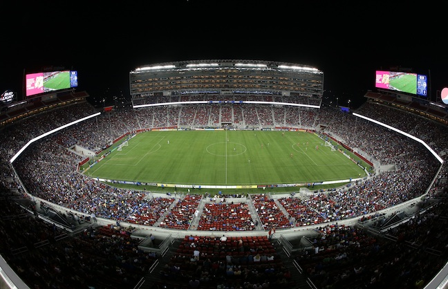 Levi's Stadium Opens with Test Run Event