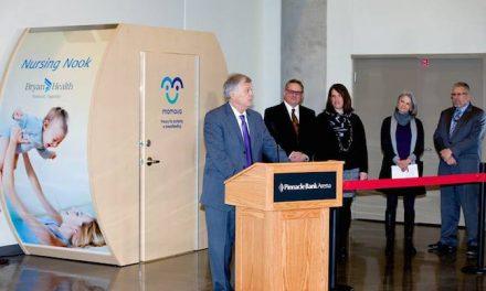 Pinnacle Bank Arena Opens Nursing Nook
