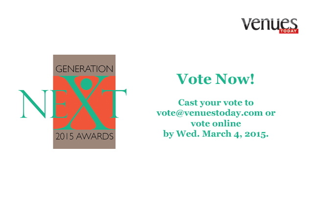 Vote for your 2015 Generation Next Awards Recipients!