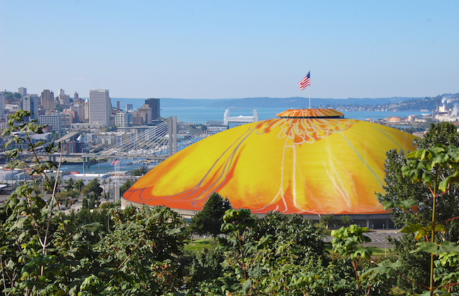 Washington Goes Warhol for Roof Design