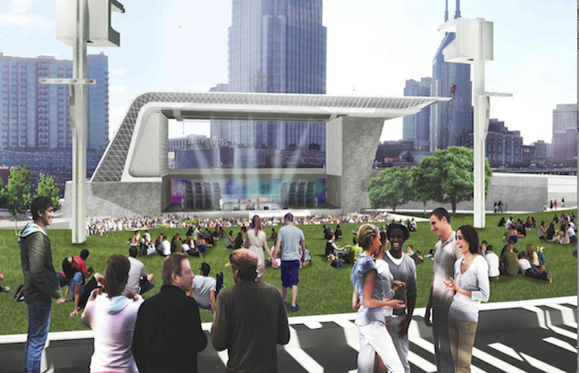 Live Nation To Manage New Nashville Amphitheater