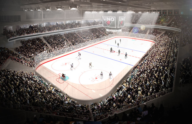 UNO/Community Arena to Open This Fall