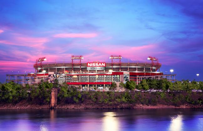 Nissan Names Titans Stadium