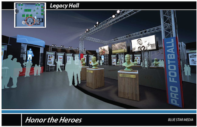 Pro Football Hall of Fame Announces Fall Tour