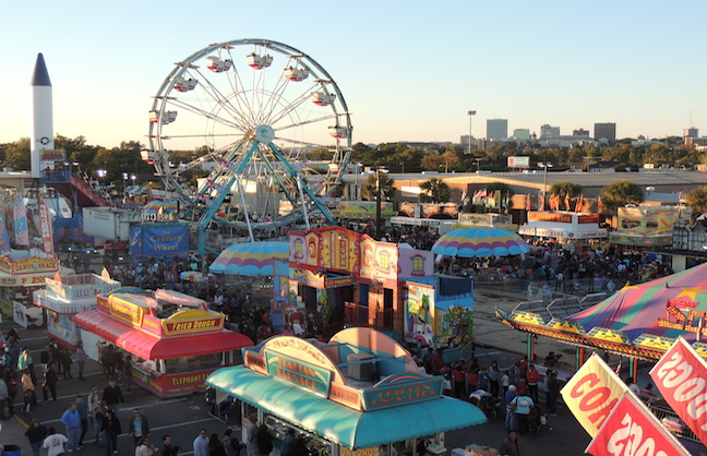 South Carolina State Fair Serves as Flood Reprieve