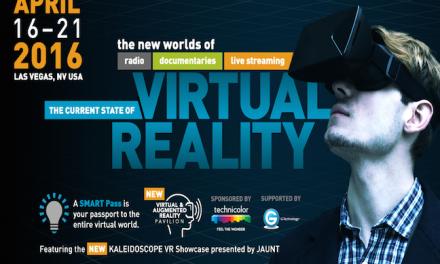 NAB Show to Host VR Showcase