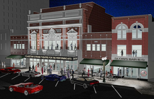 Historic Pontiac Theatre Renovation Underway