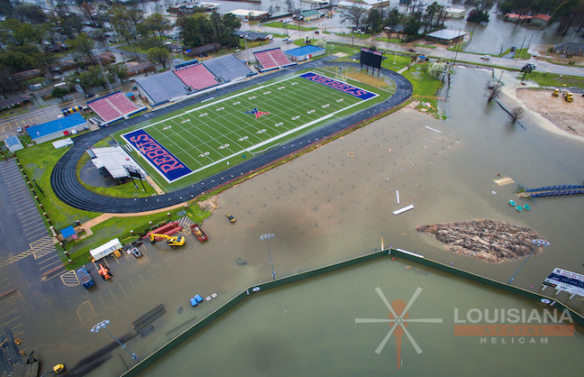 Venues Host Louisiana Flood Evacuees