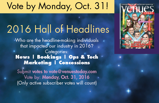 Vote for the 2016 Hall of Headlines Awards by Monday, Oct. 31st!