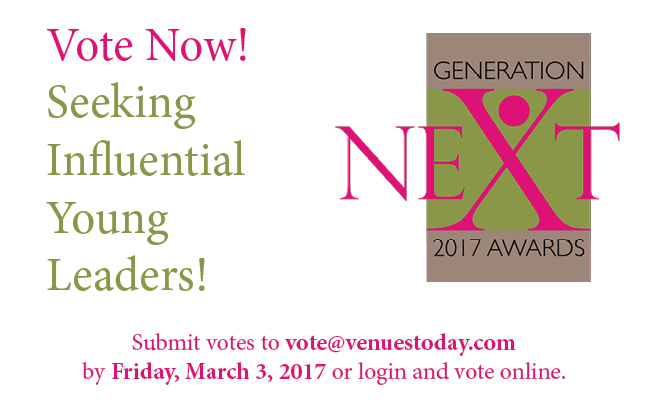 Vote by March 3rd for the 2017 Generation Next awards!