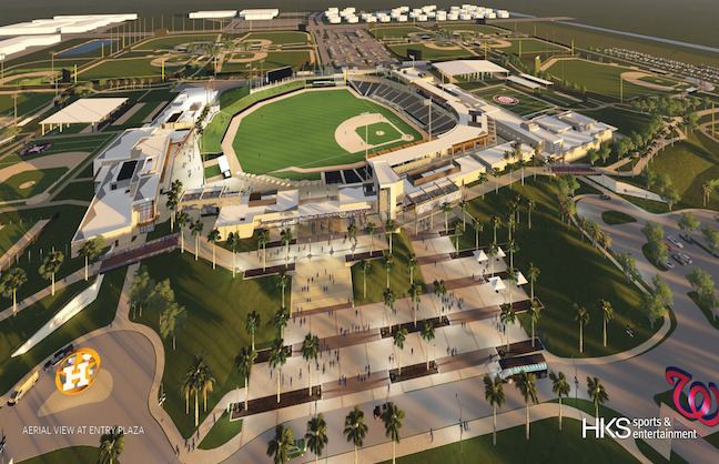 Palm Beach Opens New Spring Training Facility