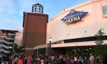 Webster Bank Arena and Mohegan Sun Partner