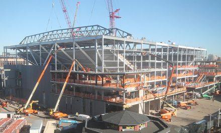USTA Construction In Full Swing