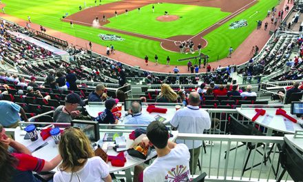 TURNING THE TABLES AT SUNTRUST PARK