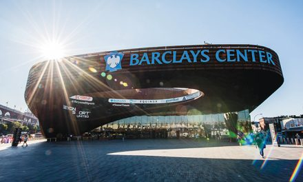 BARCLAYS CENTER IN THE FAST LANE
