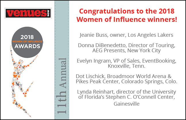 Congratulations 2018 Women of Influence!