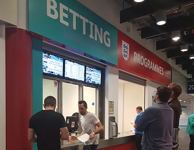 FIRM RUNNING U.K. IN-STADIUM BETTING READY FOR U.S.  ACTION