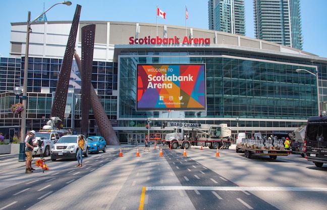 In Toronto, Scotiabank Deal Kicks In