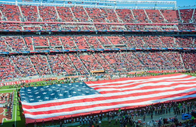 Levis Stadium Capacity >> Levi S Stadium Will Pause For Anthem Venuesnow