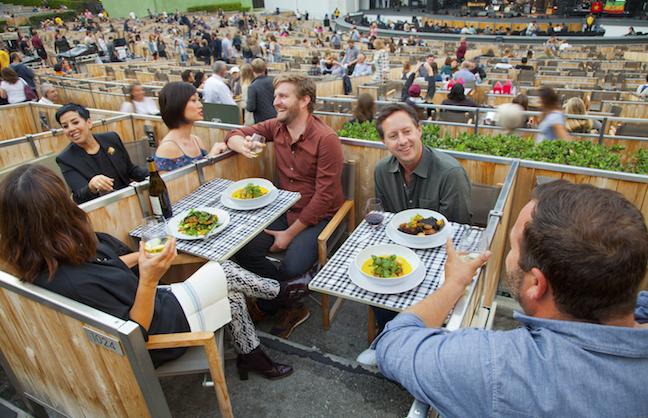 The Hollywood Bowl >> Sodexo Makes Gains At Hollywood Bowl Venuesnow