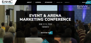 Event Arena Marketing Conference (EAMC) @ Hilton Toronto