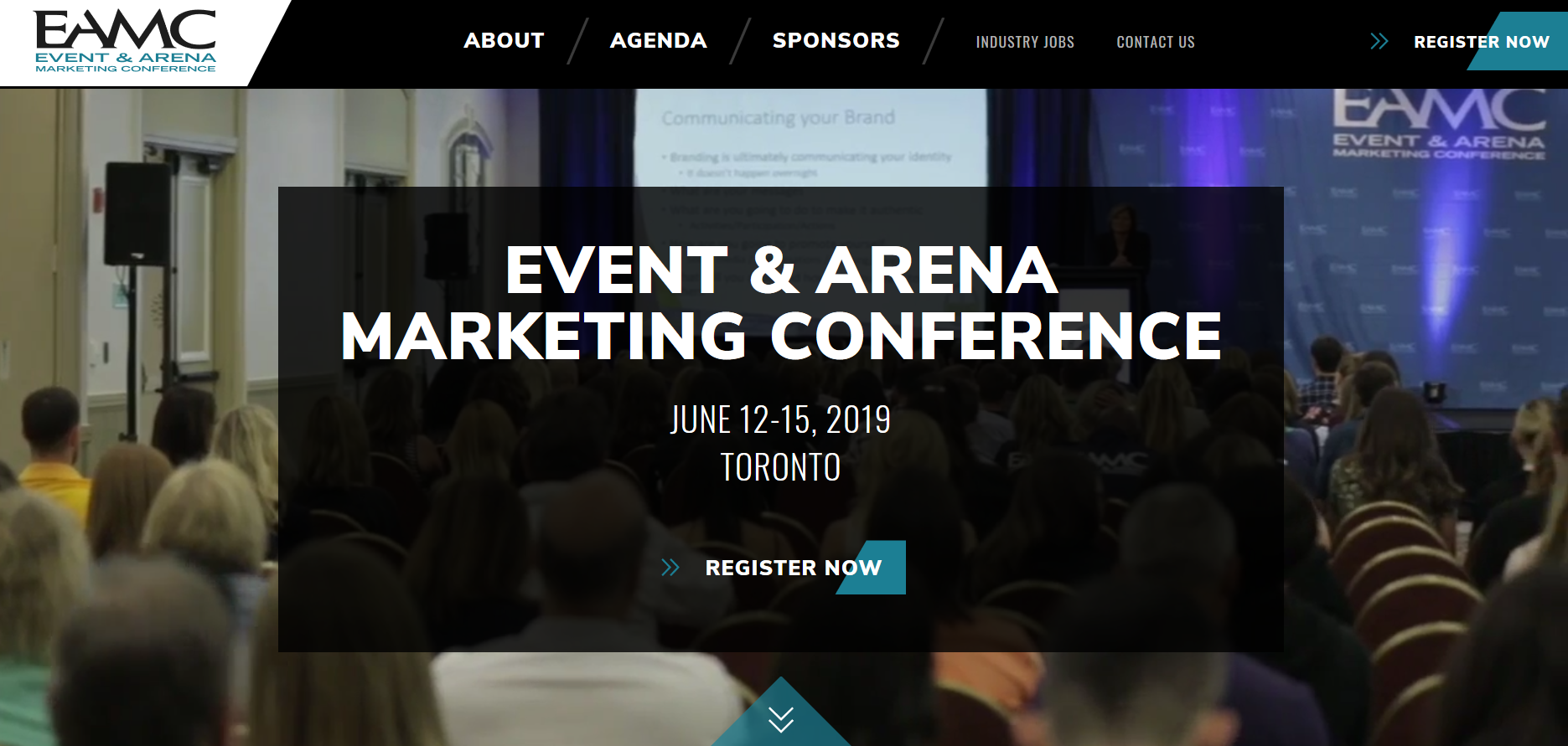 Event Arena Marketing Conference (EAMC) @ Hilton Toronto