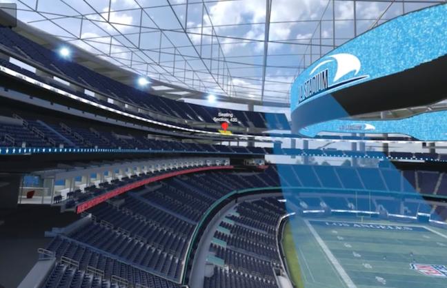Rams Push Boundaries For VR