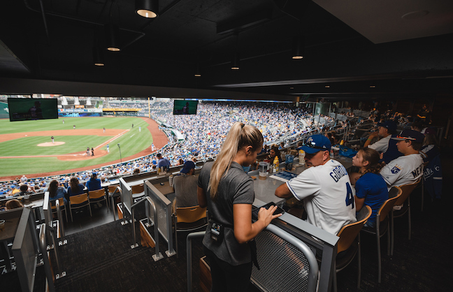 Royals Offer Taste of Diamond Club