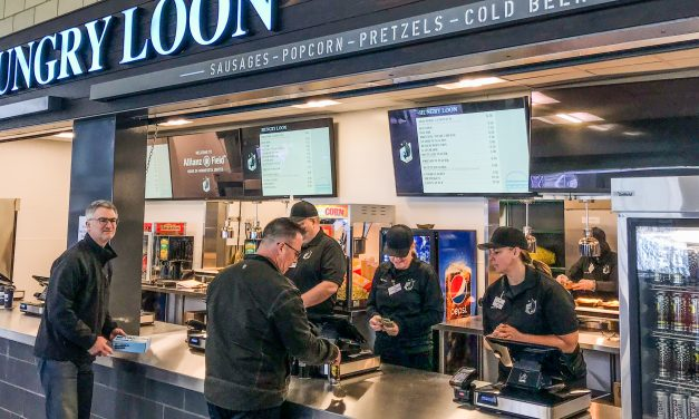 Loons Lean on Local Brands at Allianz Field