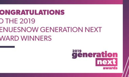 Congratulations to the 2019 VenuesNow Generation Next Awards winners