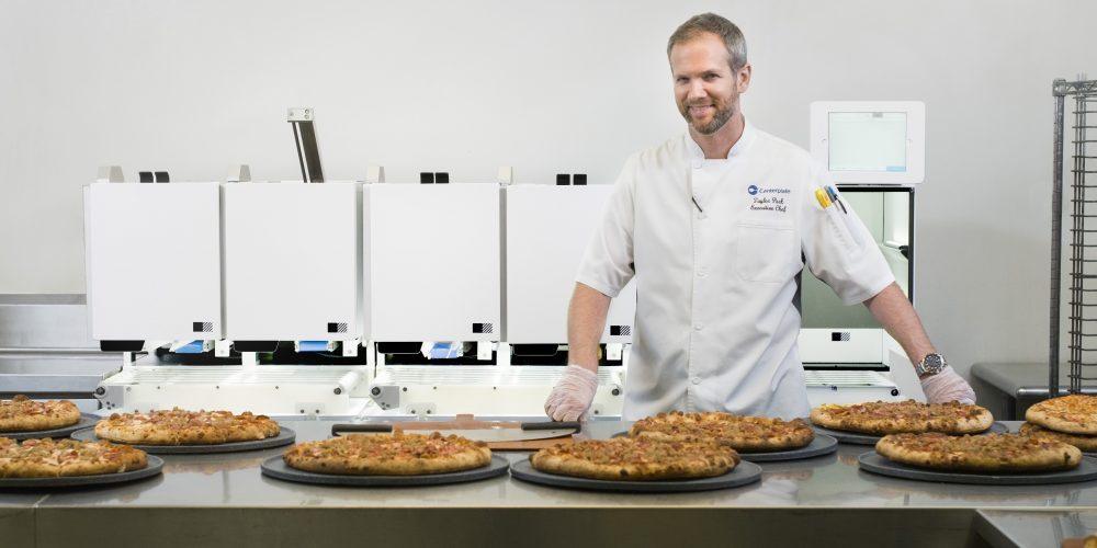 T-Mobile Park Tries Robot-Prepared Pizza